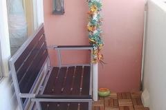 Flur und Balkon